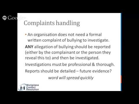 Anti-bullying series 6 - How to minimise risks that a worker will lodge a stop bullying application
