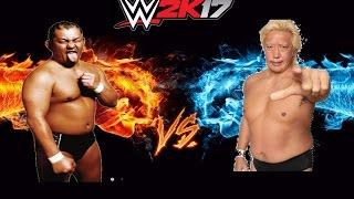 【WWE2K17】【激突!】鈴木みのる VS 高山善廣 1080p60fps リクエスト頂...