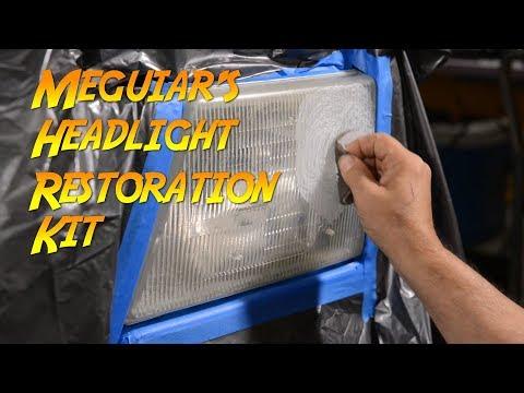 Meguiar's Two Step Headlight Restoration Kit (G2970