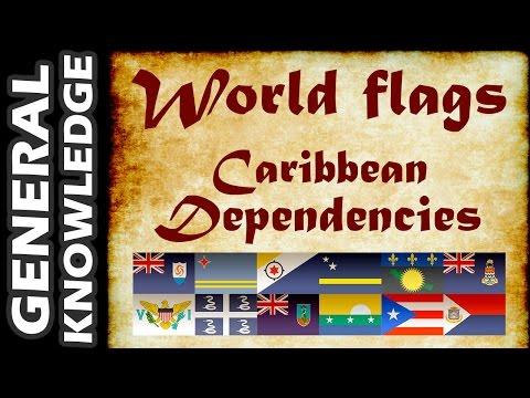 World Flags - Caribbean Dependencies