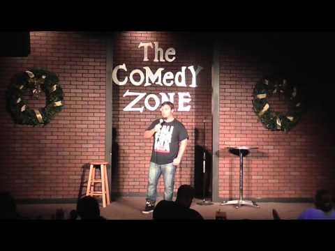 Bosnian Comedian Mirza Alijagic performing at Comedy Zone Jax