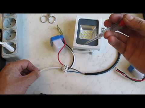 Автоматический вкл/выкл света,сумеречный дачтик,фотоэлемент.