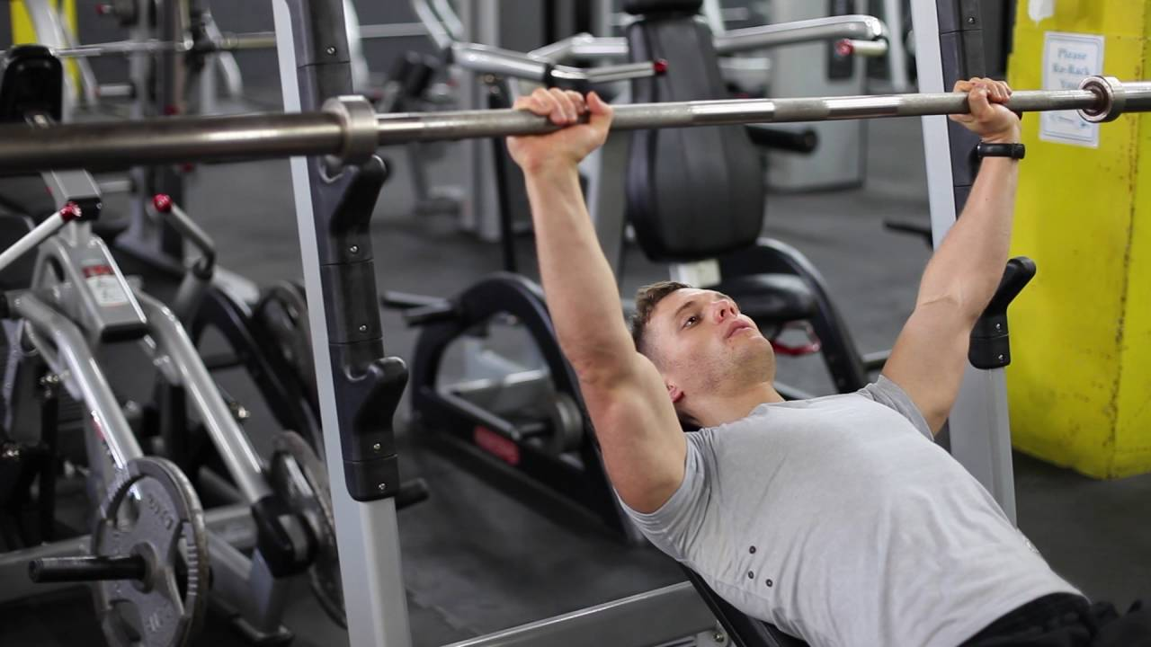 Guillotine Bench Press Part - 32: Incline Barbell Guillotine Press