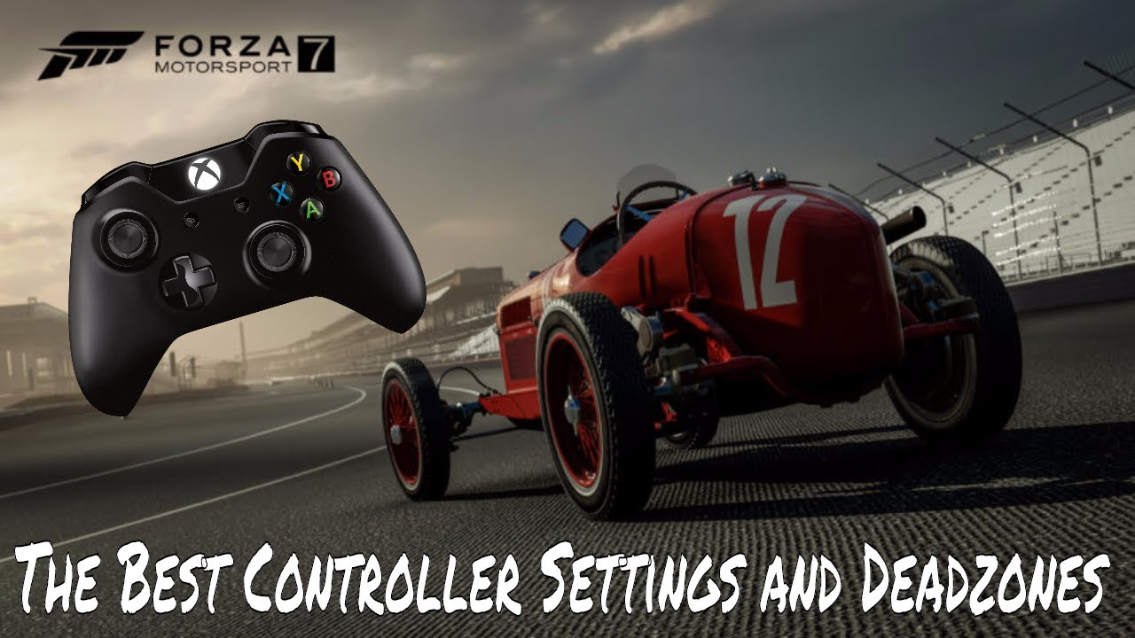 The BEST Controller setup and Deadzones Settings for Forza Motorsport 7