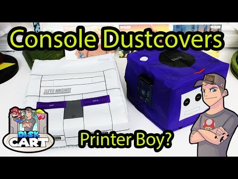 Display And Protect Game Consoles With Dust Covers! ( Printer Boy)