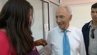 Shimon Peres: Violence is a sickness
