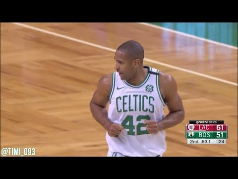 Al Horford Highlights vs Los Angeles Clippers (20 pts, 4 reb, 2 blk)