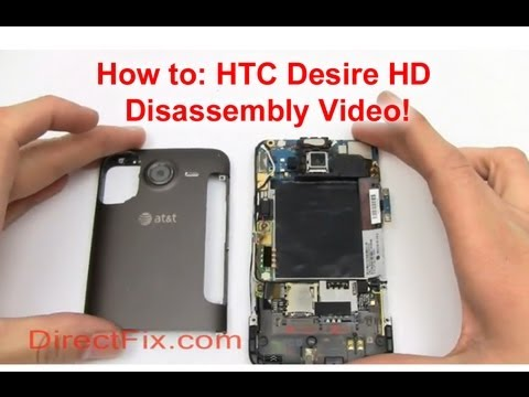 How to HTC Desire Screen Replacement