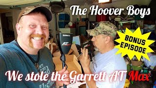 We stole the NEW Garrett AT Max & went Metal Detecting with Zach Byrd