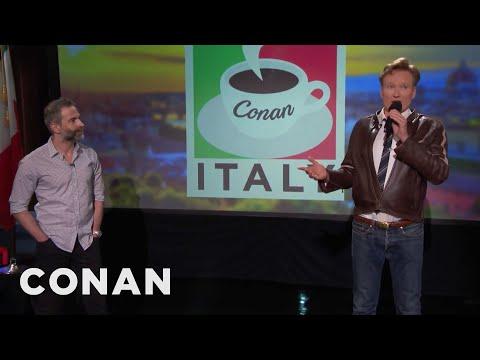 Q&A: Conan & Jordan's Favorite Meal in Italy