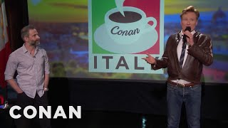 Q&A: Conan & Jordan's Favorite Meal in Italy
