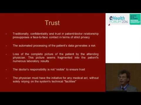 eHealth Forum 2016 |  Takis Vidalis : The Ethics of Electronic Health Record
