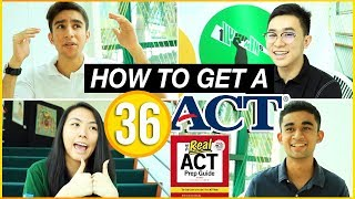 ✏️How to Get a 34+ on the ACT: ACT Study Tips and Tricks | Katie Tracy