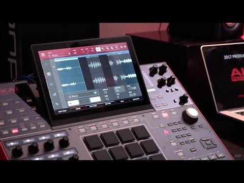 Akai Pro — MPC X Overview & Demo