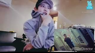 EXO ▶ Чанёль делает реакцию на клип Лея ▶ РУССКАЯ ОЗВУЧКА ▶