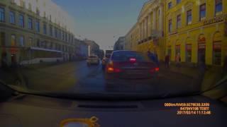 Сбили пешехода  на Садовой 14 02 2017