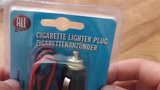 12V DC Car Power Plug & Cord