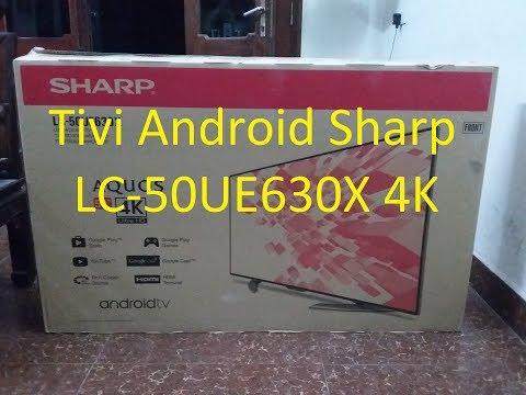 Hướng dẫn bạn lắp đặt sử dụng tivi android SHARP LC 50UE630X - tìm kiếm bằng giọng nói , chuột bay
