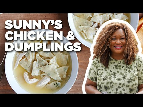 Sunny Anderson's Easy Chicken and Dumplings | Cooking for Real | Food Network