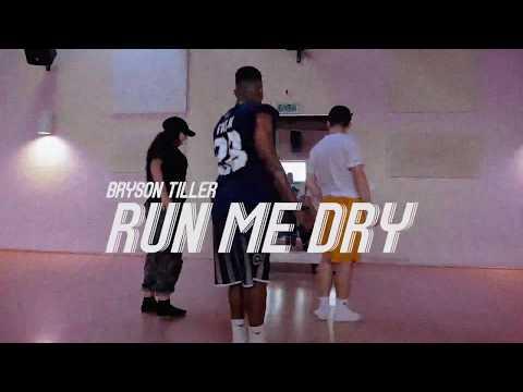 Bryson Tiller - Run Me Dry | Jordan Ward Choreography