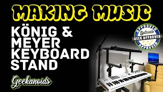 König & Meyer Keyboard and Controller Stand Review