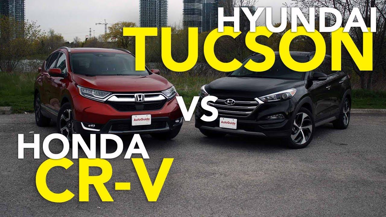 Hyundaitucson Hondacrv Suvcomparisonag