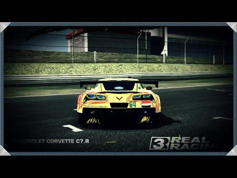 Feel The Corvette C7.r ///REAL RACING 3 PART1