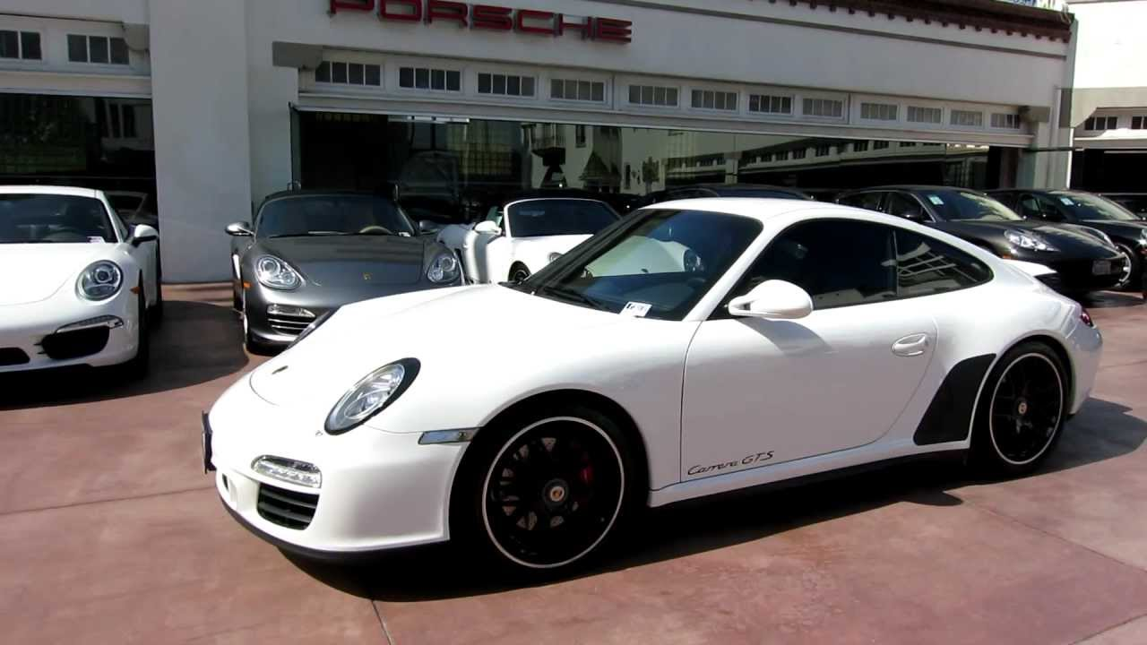 2011 porsche 911 carrera gts coupe 997 pasm sport 6 speed for sale