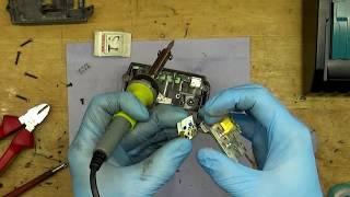 Makita BL1830 18V 3Ah batterie recovery repair changing main board