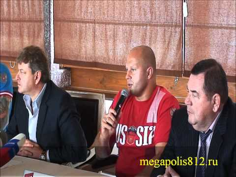 Fedor Emelianenko (Федор Емельяненко) Jeff Monson (Джефф Монсон) mma mix fight M1 2011 Megapolis