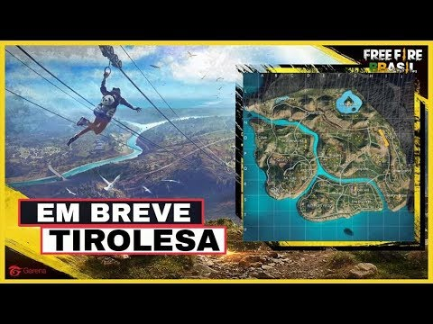 TIROLESA NO FREE FIRE BATTLEGROUNDS - SEM CLICK BAIT :)