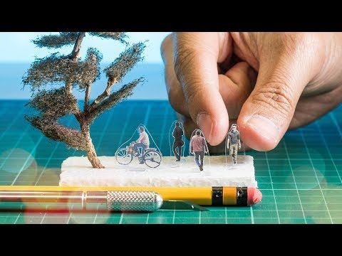 How to Make Trees and People for Architecture Scale Models