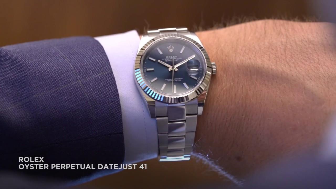 Rolex Datejust 2017 Blue