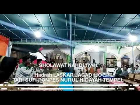 Sholawat Nahdliyah Hadrah Laskar Jagad Ijo Vs Tari Sufi Ponpes Nurul Hidayah Tempel In Kemusu