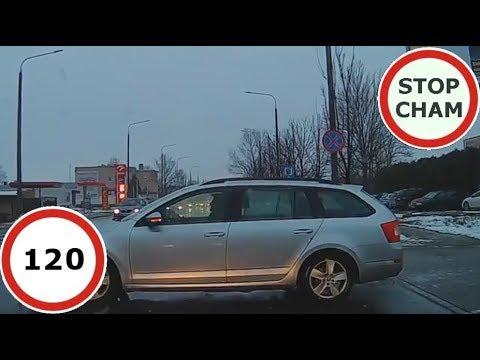 Stop Cham #120 – Niebezpieczne i chamskie sytuacje na drogach