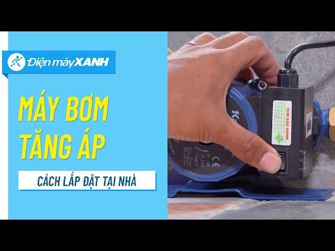 Hướng dẫn lắp đặt máy bơm nước tăng áp tại nhà • Điện máy XANH