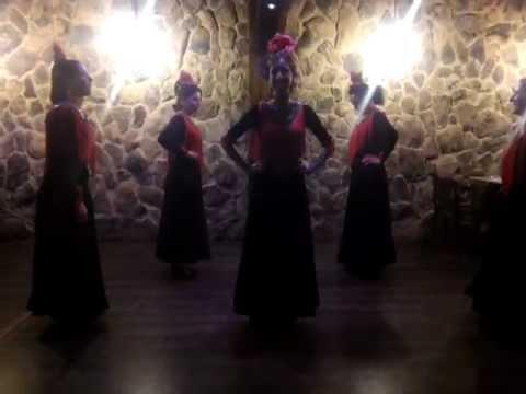 Academia de Baile Flamenco Salvador y Rosa..Grupo Santa Marta