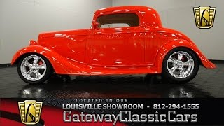 1935 Chevrolet 3 Window Coupe - 2009 Street Rod of the Year - Louisville Showroom - Stock # 968