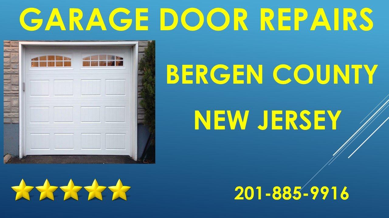 Elegant Garage Door Bergen County NJ 201 885 9916 Overhead Door Repairs Bergen  County NJ