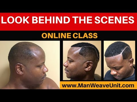 Look And See What Is Inside The Man Weave Unit Online Course
