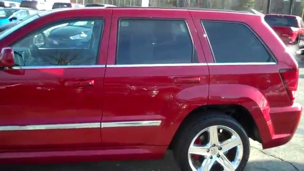 2010 jeep grand cherokee srt 8 southern maine motors saco for Southern maine motors saco maine