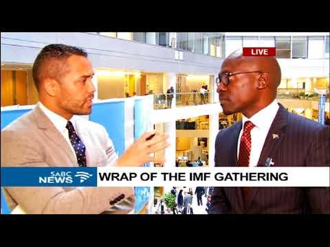 Malusi Gigaba on economic development at IMF/WB summit