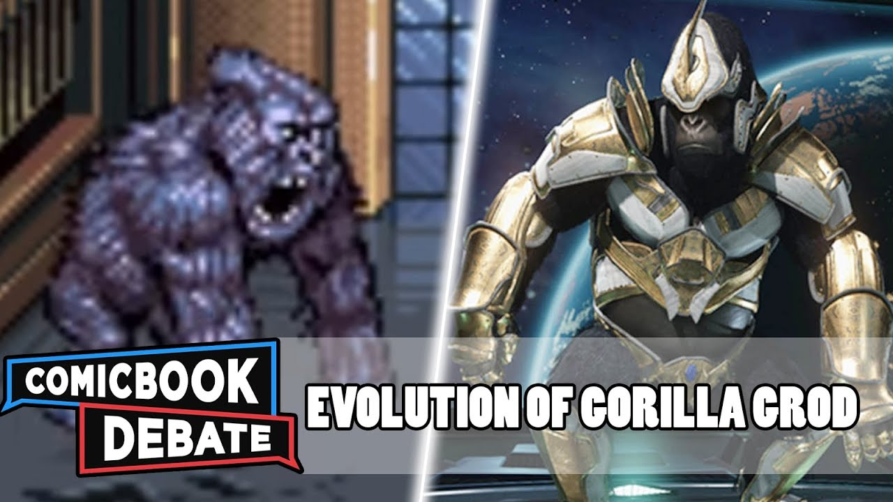 Evolution of Gorilla Grodd in Games in 7 Minutes (2018)