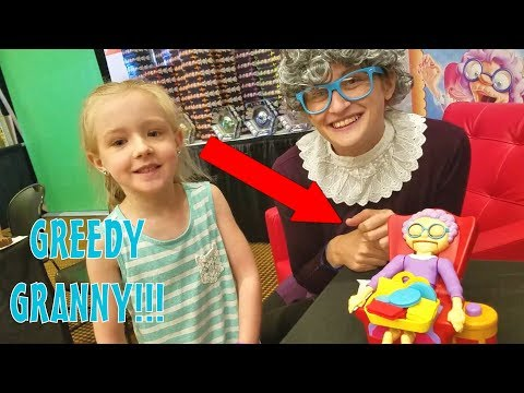 Greedy Granny in Real Life! Clamour 2018