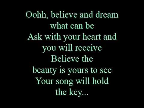 Believe - lyrics