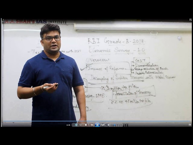 RBI Grade B 2018 (phase: 1 & 2): Free Online Crash Course (Lecture-1)