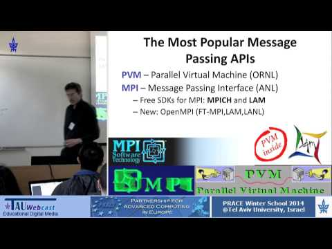 Introduction to parallel Programming -- Message Passing Interface (MPI)
