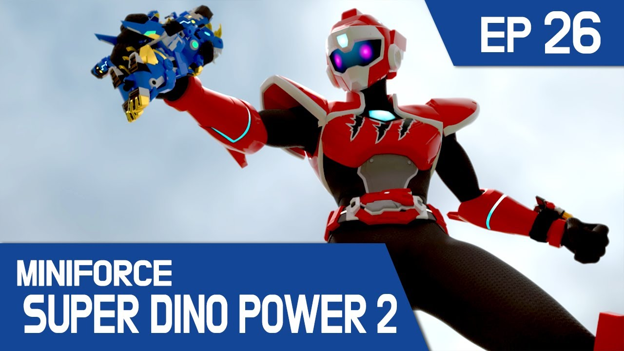 [MINIFORCE Super Dino Power2] Ep.26: Lord Polus Meets His Fate