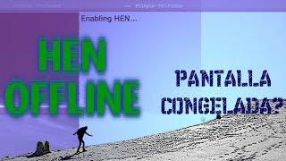 HEN Offline Menu XMB PS3 4.84 HFW   Solucionar Pantalla Congelada😰 -Homebrews- #PS3xploit