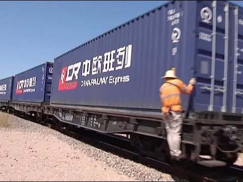 China Runs 5,000 Freight Trains to Europe